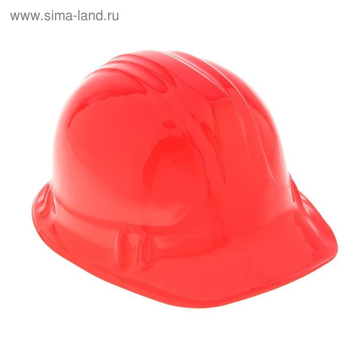 Карнавальная каска красная