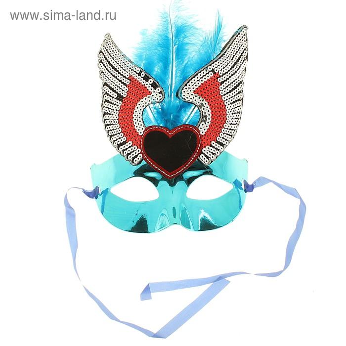 Карнавал маска Клеопатра 21*16 цвет микс