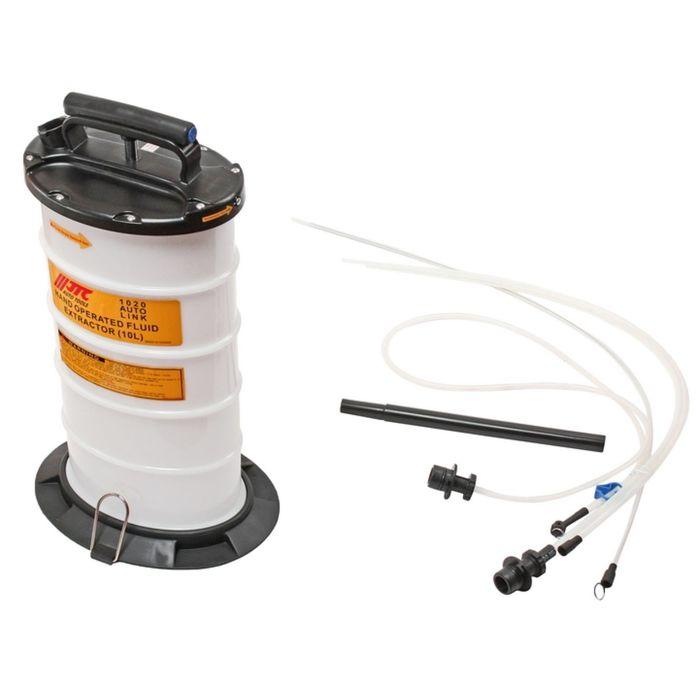 Приспособление для откачки технических жидкостей JTC с ручным приводом, емкость 10 л