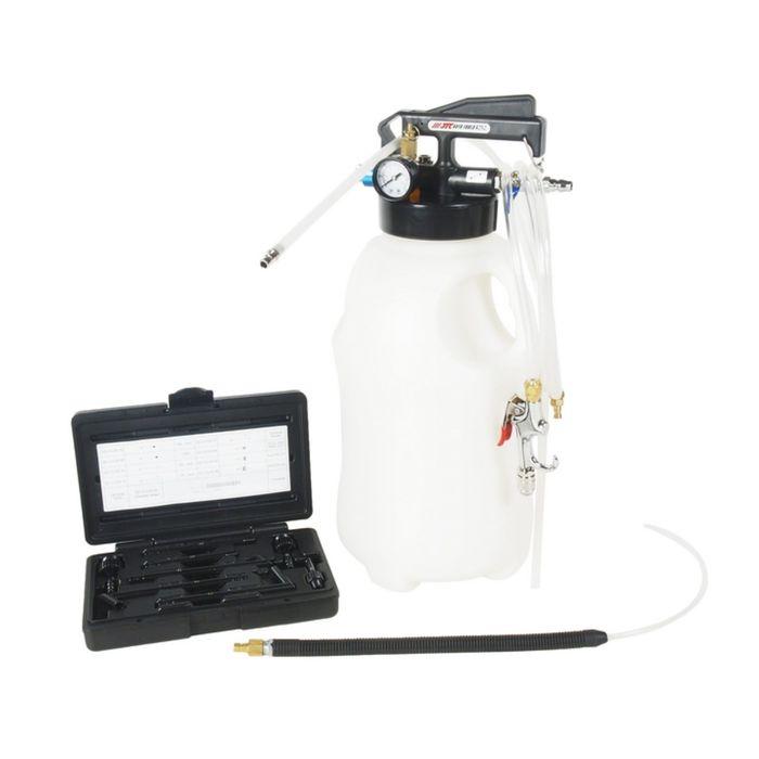 Приспособление для перекачивания масла и тех. жидкостей JTC с пневмо приводом, емкость 10 л   242876