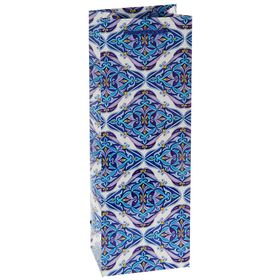 Пакет подарочный под бутылку 'Нежность', 36 х 12 х 8.5 см Ош