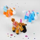 """Мягкая игрушка-присоска """"Лошадь с крыльями"""", цвета МИКС"""