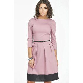Платье женское, размер 46, цвет светло-лиловый 760-09-01