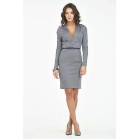 Платье женское, размер 44, цвет серый 721-11