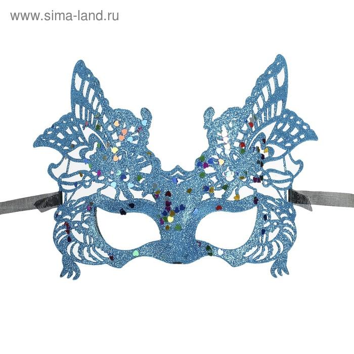 """Карнавальная маска """"Графиня"""", цвета МИКС"""