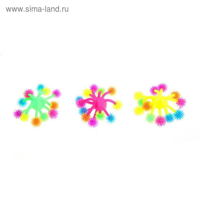 """Ёжка резиновый """"Медуза"""", напальчник, цвета МИКС"""