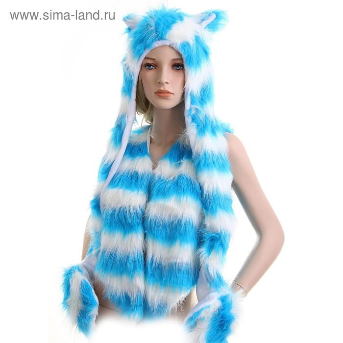Карнавал костюм голубая ласка 44-46 разм