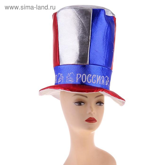 """Шляпа-цилиндр """"РОССИЯ"""""""