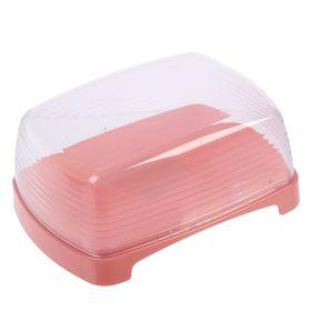 Масленка Cake, цвет розовый Ош