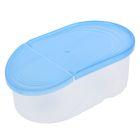 Емкость для сыпучих продуктов 0,5 л Wave, цвет голубой