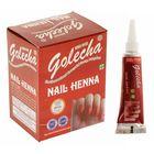 Хна для ногтей Golecha Nail Maroon тёмно-бордовый, туба, 11 г