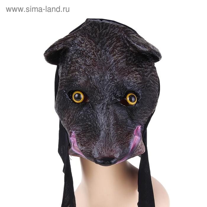 """Карнавальная маска латексная """"Волчонок"""""""