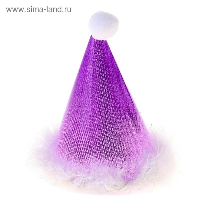 Световой колпак, цвет фиолетовый, 18 см