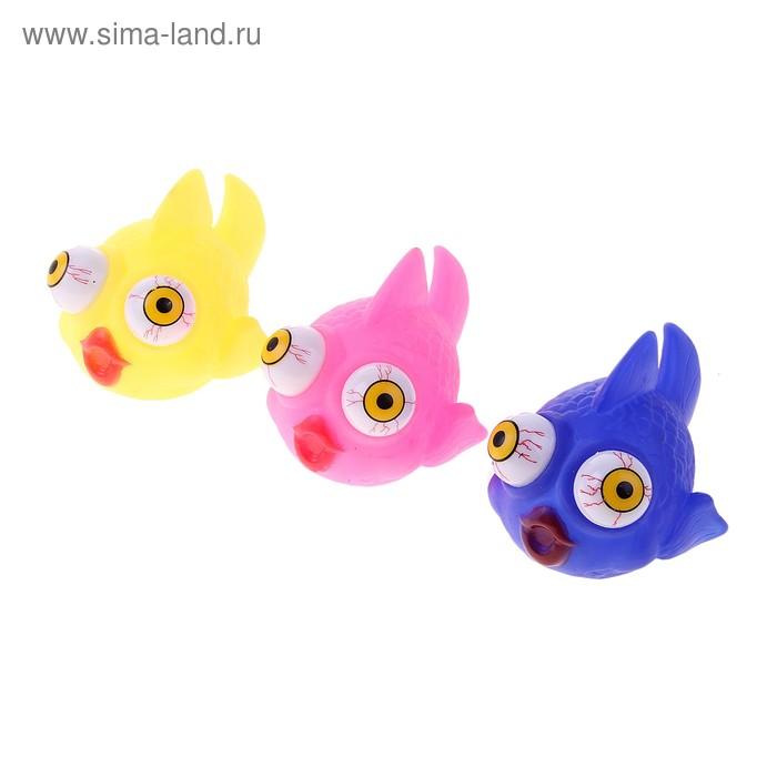 """Прикол """"Рыбка"""", выпадают и светятся глаза , цвета МИКС"""
