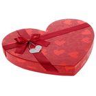 Коробка подарочная для конфет, красный, 29,5 х 26 х 4 см