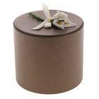 Коробка подарочная, цвет бронзовый, 10 х 10 х 10 см