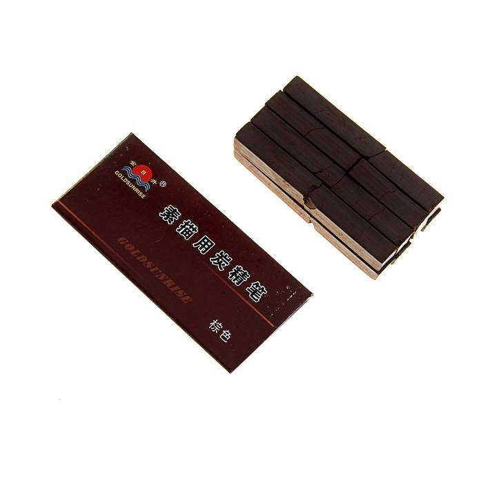 Сангина темно-коричневая 8шт в картонной коробке (58*32мм)
