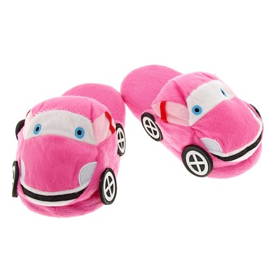 "Тапочки ""Машинка"", 32 размер, цвета МИКС"