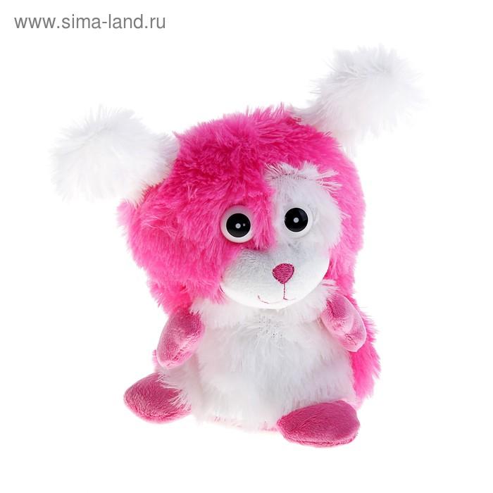 "Мягкая игрушка интерактивная ""Розовая собачка-хохотун"""