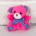 """Мягкая игрушка-брелок """"Медведь с бантом"""" 6,5 см, МИКС"""