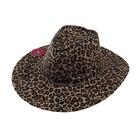 """Карнавальная шляпа """"Ковбой"""", леопард, р-р 56-58 см"""