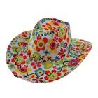 """Карнавальная шляпа """"Ковбой"""", разноцветная, р-р 56-58"""