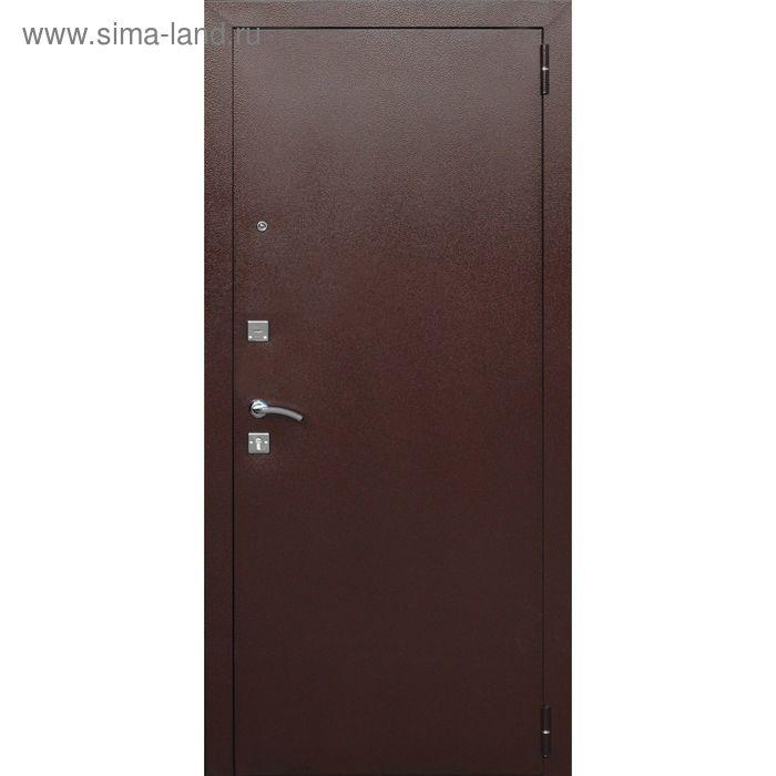 Дверь входная Ampir Венге 2050х860 (левая)