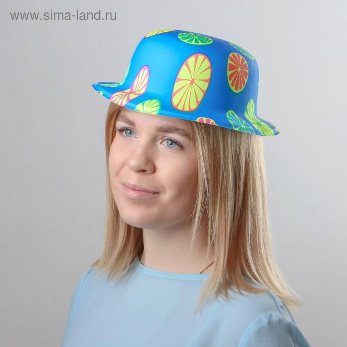 """Карнавальная шляпа """"Лимончик"""" набор (6шт)"""