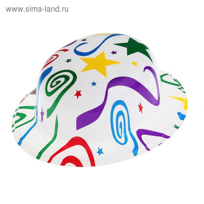 """Карнавальная шляпа """"Серпантин"""" набор (6шт)"""