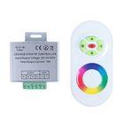 Контроллер Luazon RGB д/модулей/лент, 12V, 216W, высочастотный 2.4ГГц, сенсорный пульт белый
