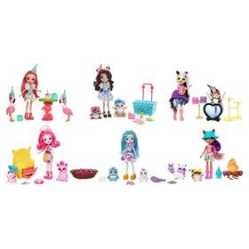 Набор Enchantimals кукла со зверушкой и тематическим набором МИКС