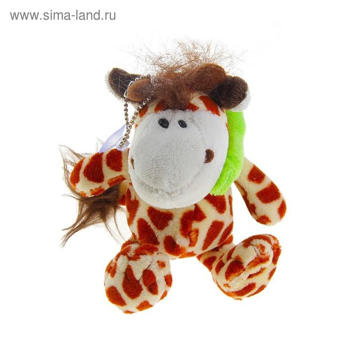"""Мягкая игрушка-брелок """"Жираф"""" с присоской"""
