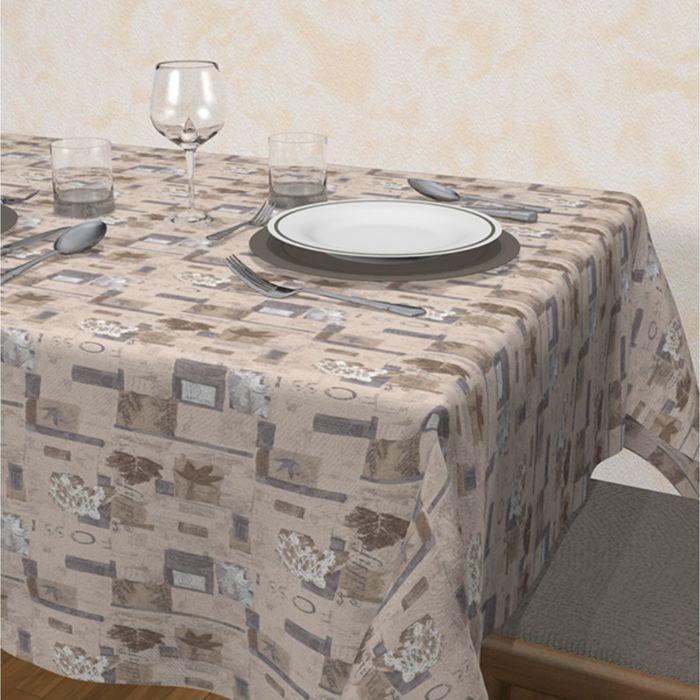 Клеенка столовая Loneta, 140 см, рулон 20 п.м., Сорренто 29426/1001