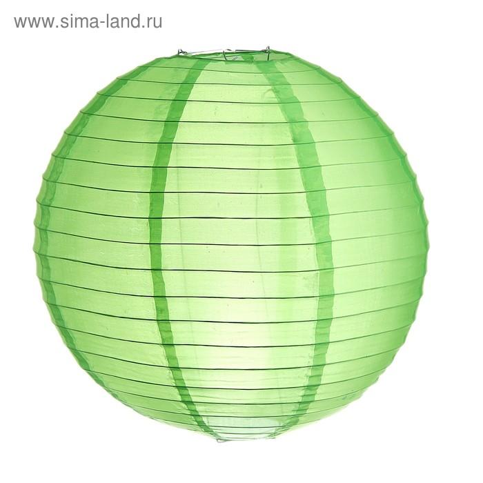 Китайский фонарик, цвет зелёный