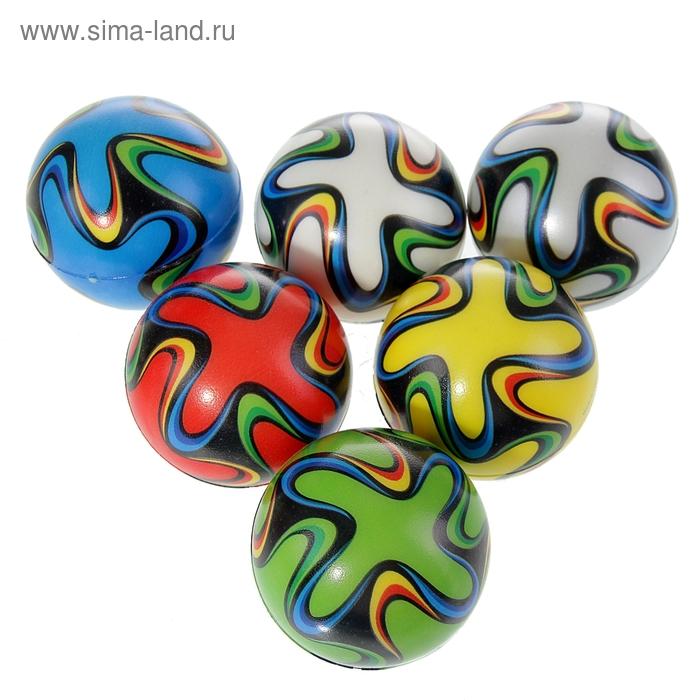 "Мягкий мяч ""Узор"", цвета МИКС"