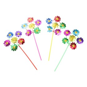 "Ветерок шестерка ""Цветок"", цветочки Микс"
