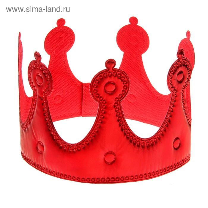 "Корона ""Принцесса"" красная"