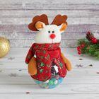 """Подарочная упаковка """"Новый год"""" в снежинку, вместимость 100 мл, виды МИКС"""