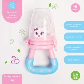 Ниблер «Самая милая», с силиконовой сеточкой, цвет розовый/голубой Ош