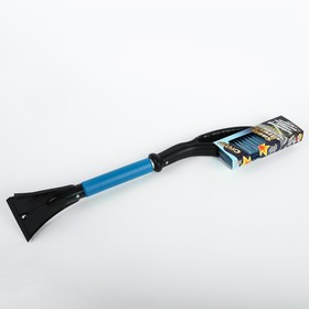 Щетка-сметка со скребком и мягкой ручкой СА-88