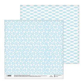 Бумага для скрапбукинга «Льняная салфетка», 30,5 х 30,5 см, 180 г/м