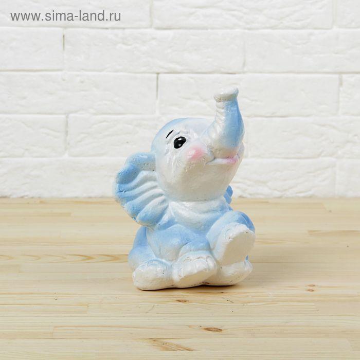 """Копилка """"Слонёнок"""" фиолетовая"""