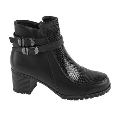 Ботинки женские SANDWAY арт. B7600-1 (черный) (р. 38)