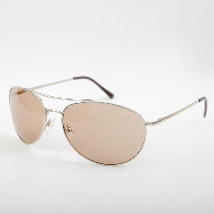 Водительские очки SPG «Солнце» серебро comfort / комплектация: Чехол SPG и салфетка