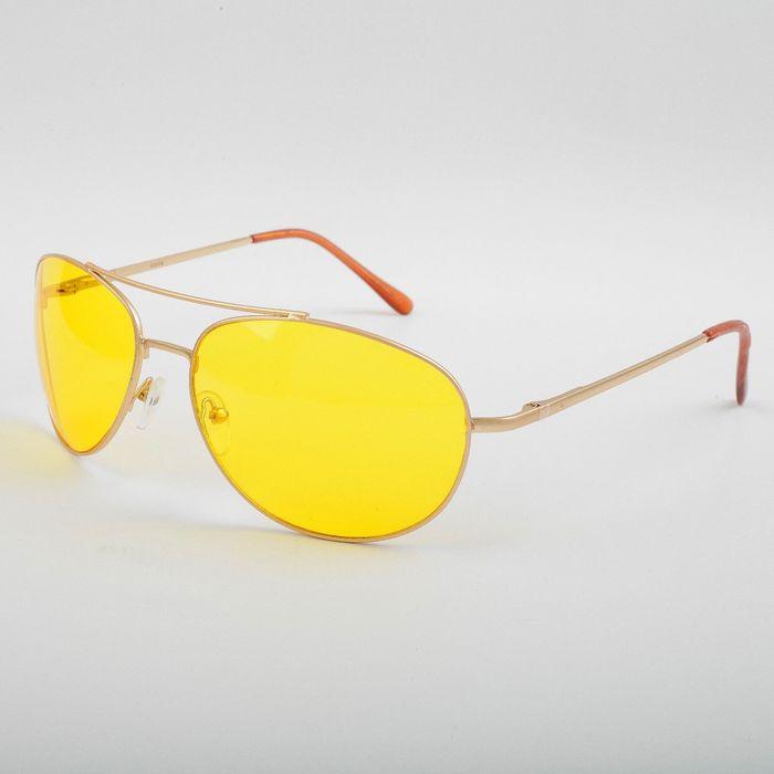 Водительские очки SPG «Непогода | Ночь» золото comfort / комплектация: Чехол SPG и салфетка   276605