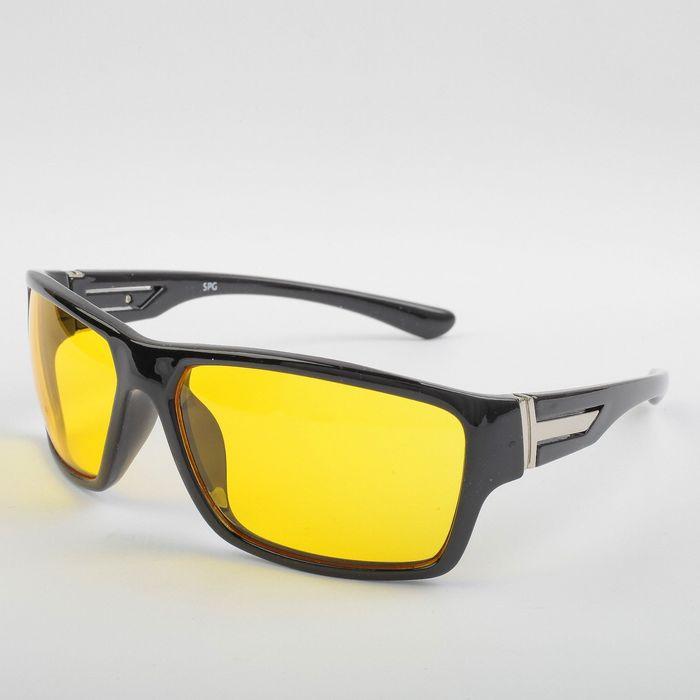 Водительские очки SPG «Непогода | Ночь» черный premium / комплектация: Чехол SPG и салфетка   276605