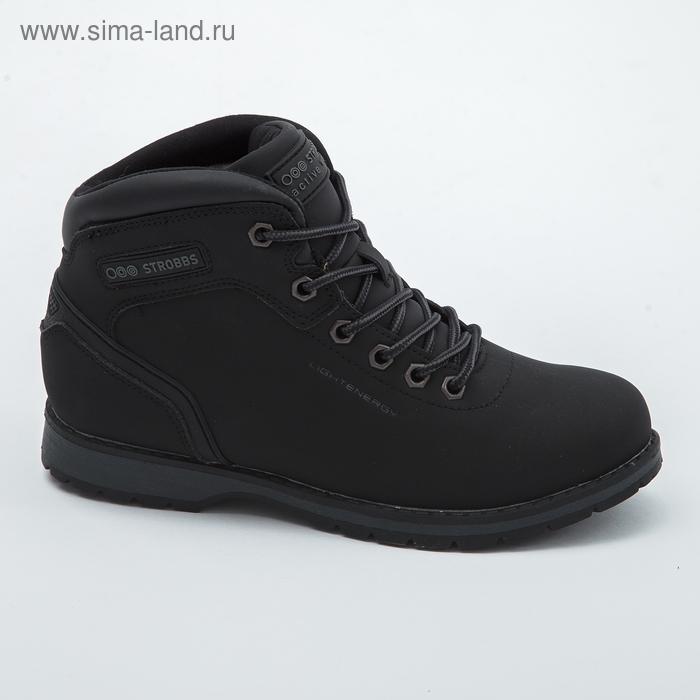 Ботинки женские зимние арт. F8210-3 ( чёрный) (р. 40)