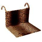 Гамак на батарею Happy Friends для кошек, 43 х 32 х 20 см, искусственный мех, леопард