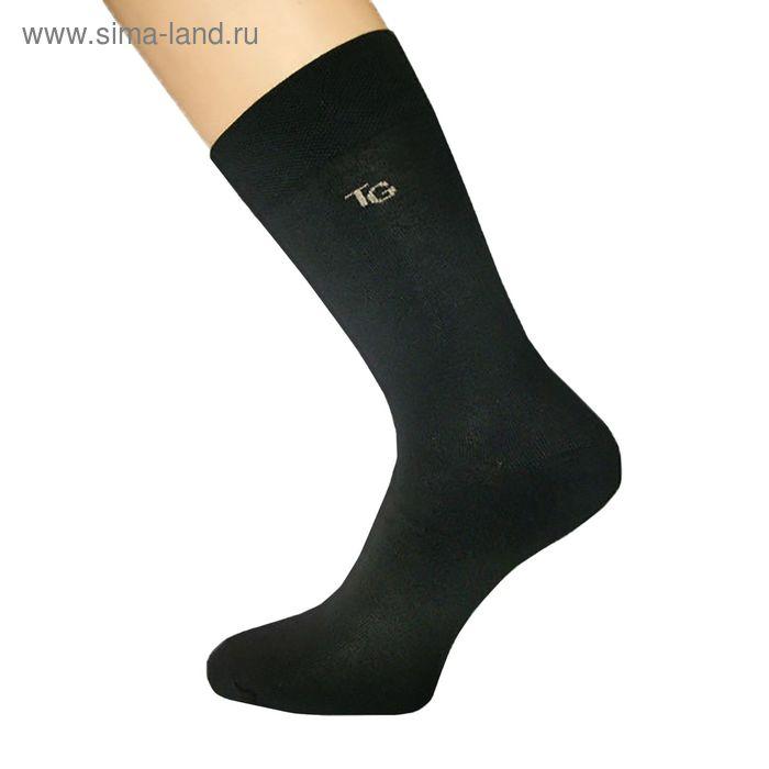 Носки мужские 022 цвет чёрный, р-р 27-29