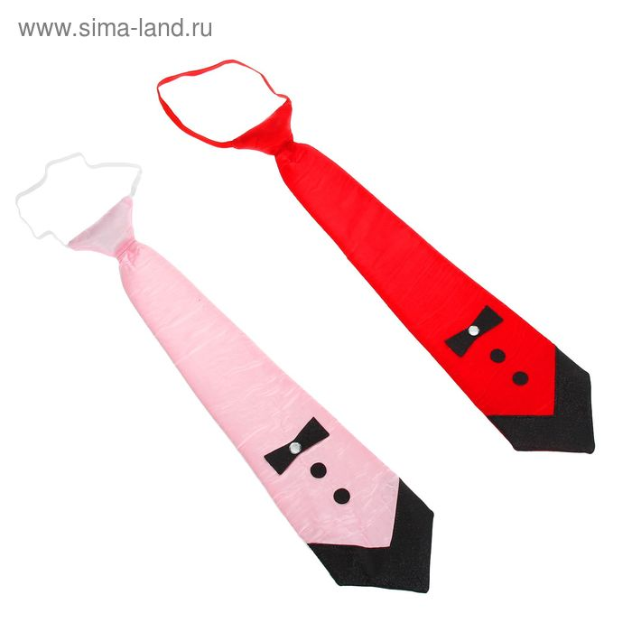 """Карнавальный галстук """"Модница"""", женский"""